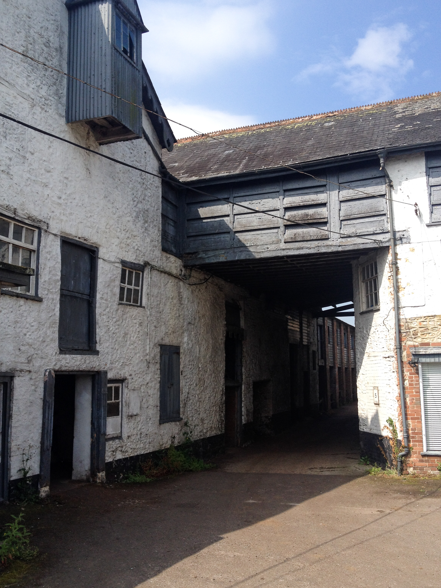 Eighteenth Century tannery of Colyton Dorset, last producer of Oak Bark tanned leather